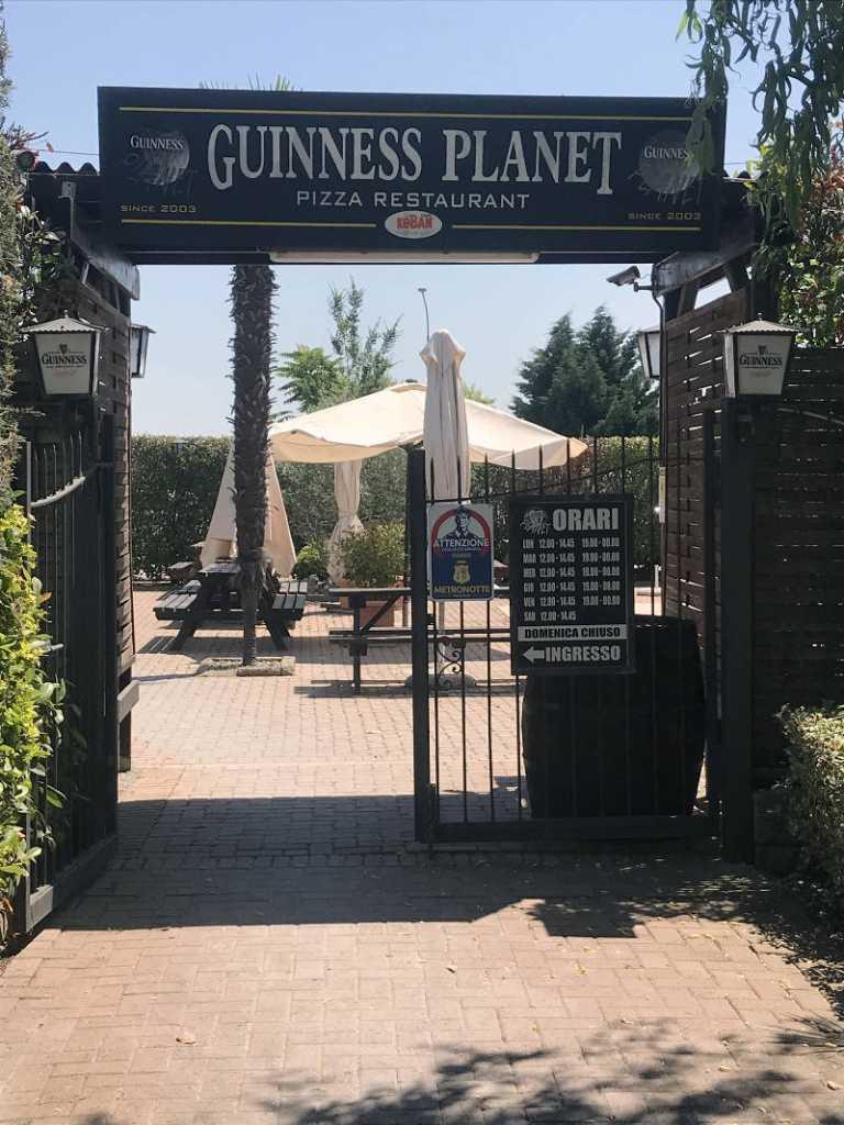 Guinness Planet Restaurant